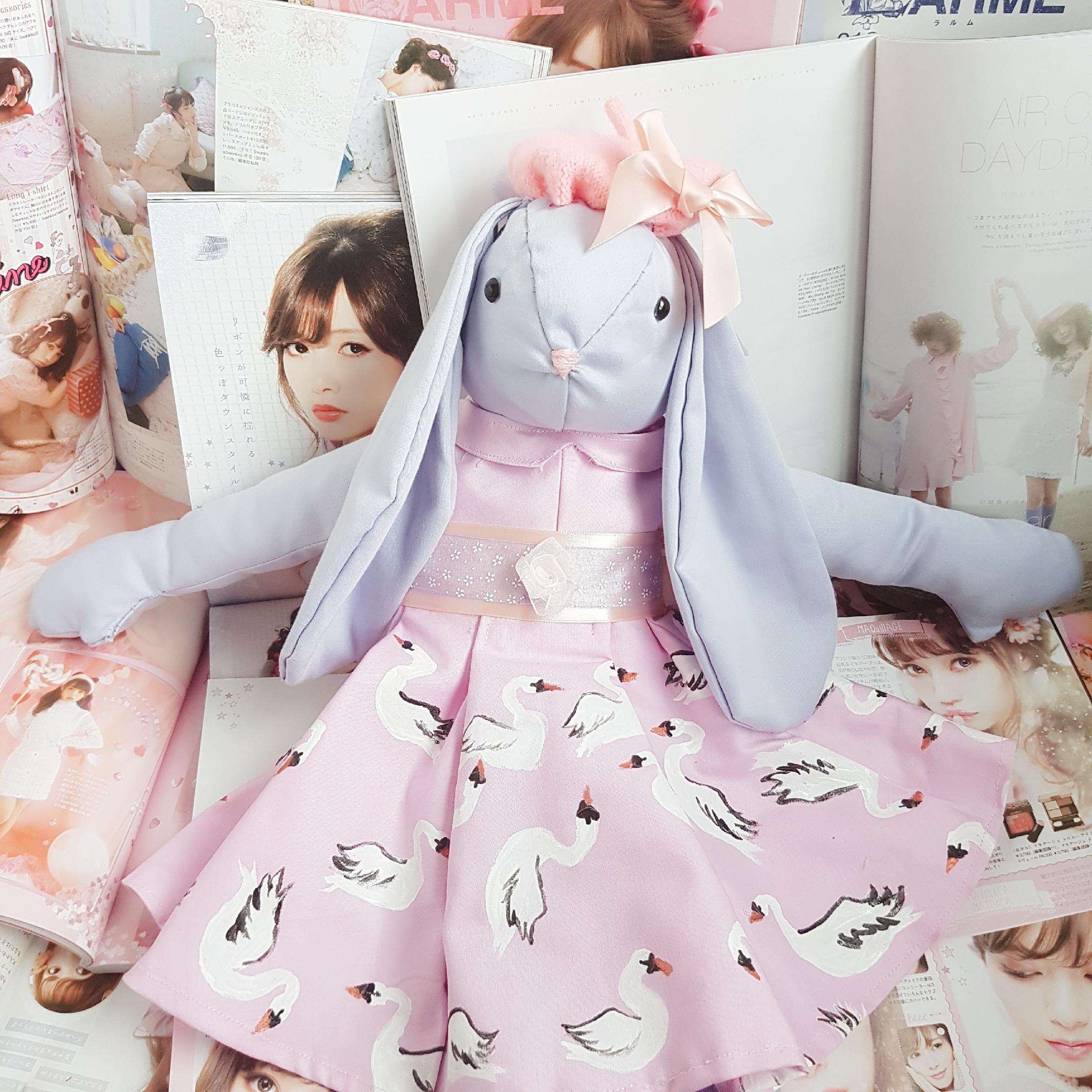 Lavender Cloth Bunny