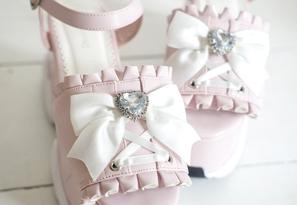 DearMyLove Summer 2021: Ribbon Sneaker Sandals