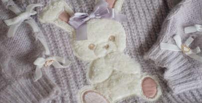 Liz Lisa Winter 2020: Bunny Fur Knit One Piece